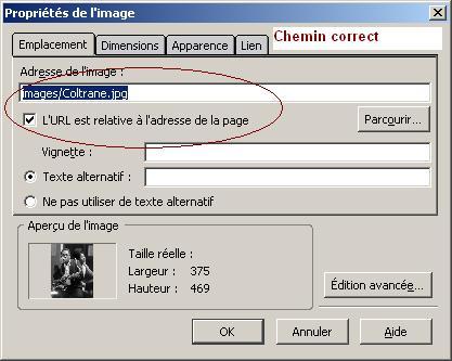Creer Un Site Web Probleme D Affichage D Images